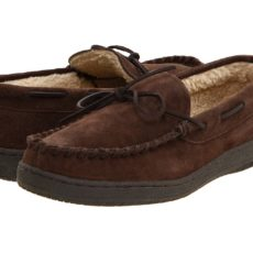 L.B. Evans Morgan (Chocolate Suede) Men's Slippers