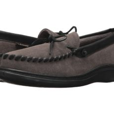 L.B. Evans Atlin (Gray W/Terry Lining) Men's Slippers