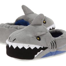Stride Rite Lighted Mouth Shark (Toddler/Little Kid) (Grey) Boys Shoes