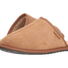Minnetonka Franklin (Cinnamon Suede) Men's Slippers