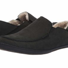 OluKai Moloa Slipper (Onyx/Onyx) Men's Slippers