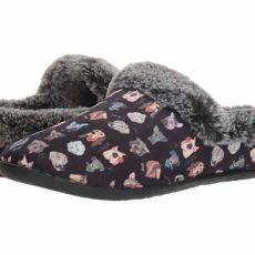 BOBS from SKECHERS Beach Bonfire - Dapper Nap (Black) Women's Slippers