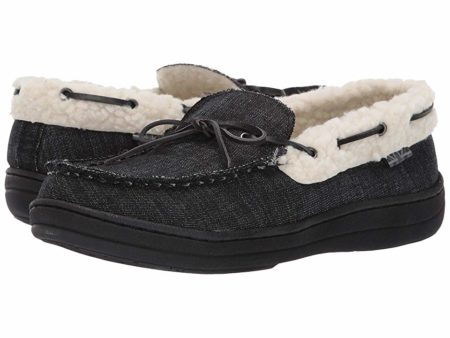 Ben Sherman Jeffery Slipper (Black Denim) Men's Shoes
