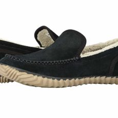 SOREL Sorel Dude Moctm (Black/Black) Men's Slippers