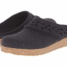 Haflinger Lacey (Charcoal) Women's Slippers